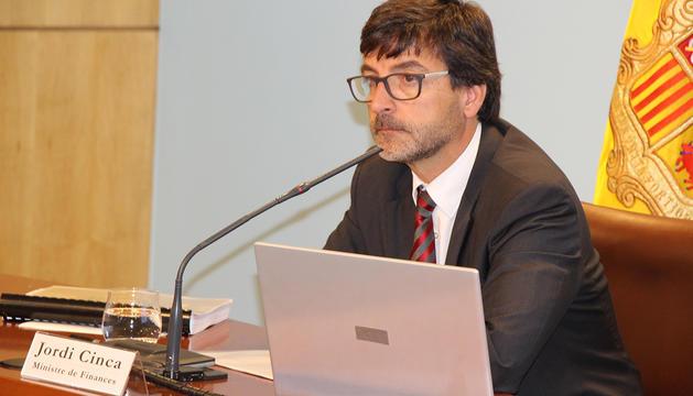 Jordi Cinca durant la roda de premsa.