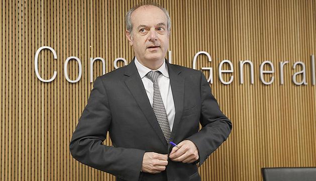 El ministre de Salut, Carles Álvarez Marfany.