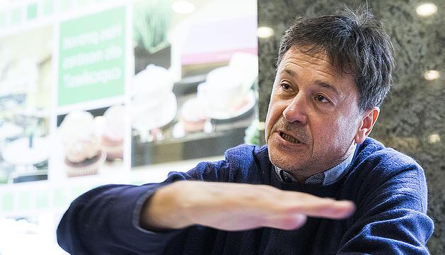 El conseller liberal a la minoria d'Andorra la Vella Víctor Pintos aquesta setmana.