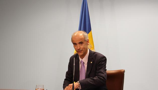 El cap de Govern, Toni Martí.