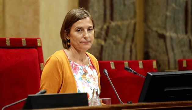 La presidenta del Parlament de Catalunya, Carme Forcadell.