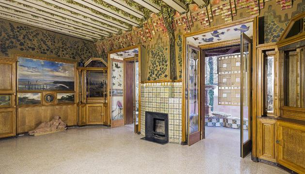 La casa projectada per Gaudí al barri de Gràcia barceloní.