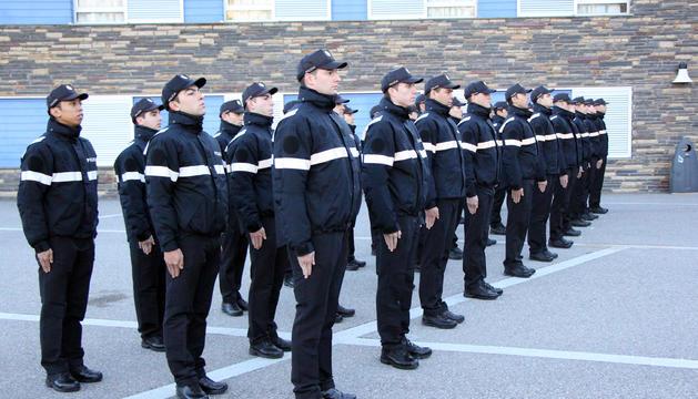 Agents de la nova formació del cos de policia