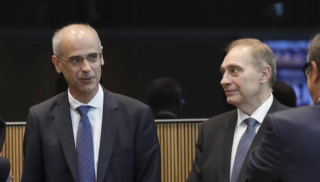 Toni Martí i Josep Pintat.