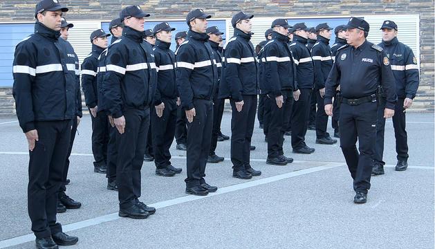 Formació contra el terrorisme per a la policia
