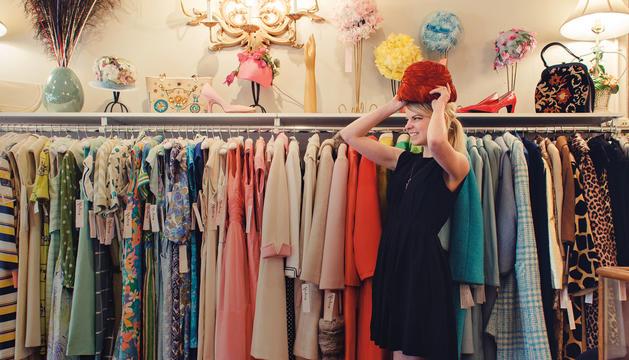 La roba vintage està de moda.