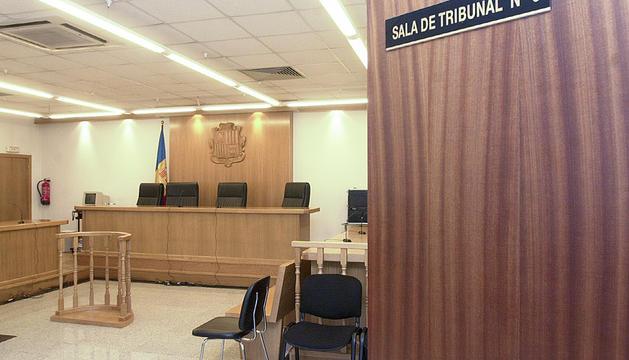 El judici es va celebrar a la sala 3 de la seu de la Justícia.