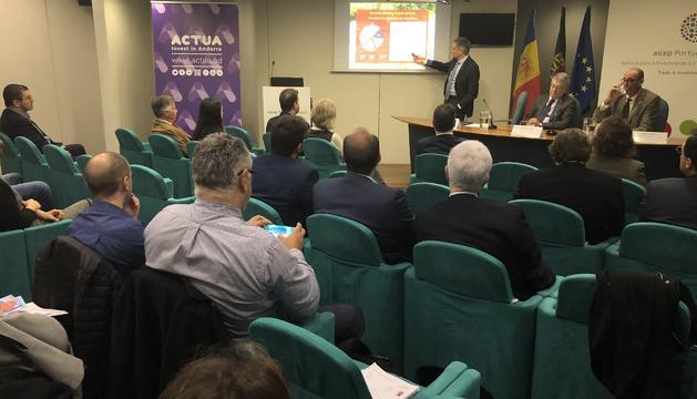 Trobada de la missió econòmica Portugal-Andorra
