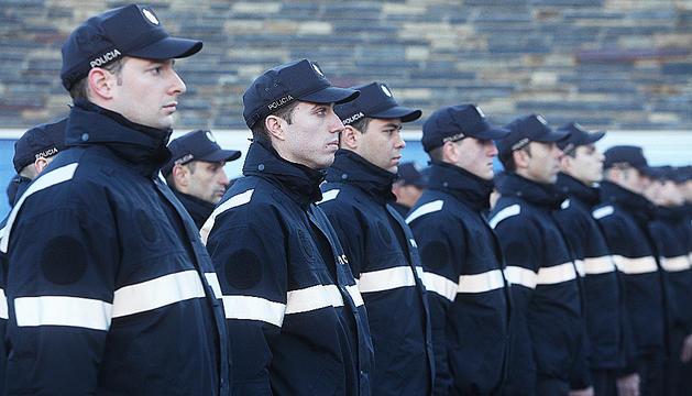 La nova promoció de la policia.