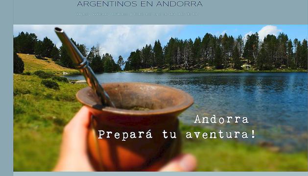 Gustavo Fabian va posar en marxa el blog 'Argentinos en Andorra' l'any passat.