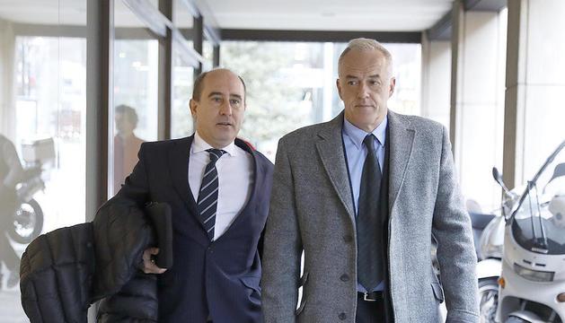 L'advocat Alfons Clavera i Joan Samarra