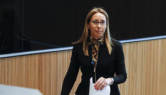 Sílvia Bonet al Consell General.