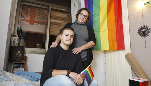 La Sílvia Ortiz es va prendre amb molta naturalitat que la seva filla Rosanna fos lesbiana.