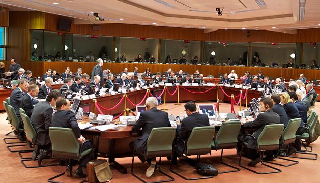 L'Ecofin s'ha reunit aquest dimarts a Brussel·les.