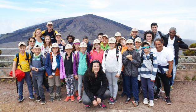 Un grup d'infants de la parròquia d'Escaldes-Engordany van poder visitar tots els racons de l'illa de la Reunió.