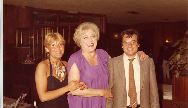Mari Sampere va ser una de les estrelles convivades.