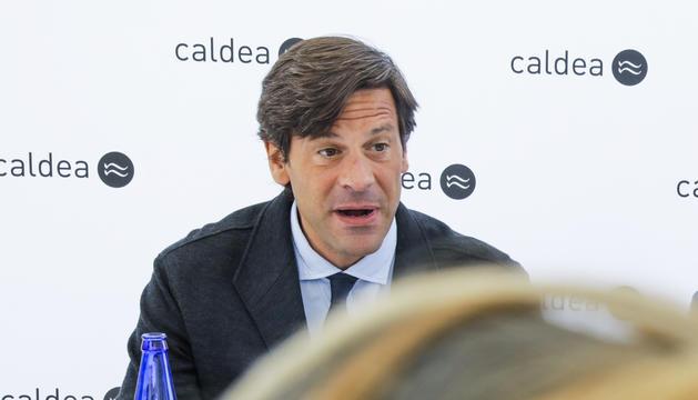 Miguel Pedregal, director general del termolúdic de Caldea.