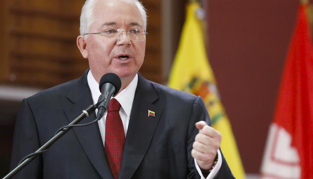 Rafael Ramírez no ha tornat a Veneçuela i es troba amagat.