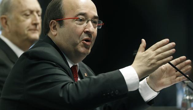 El candidat del PSC a les eleccions del 21-D, Miquel Iceta.