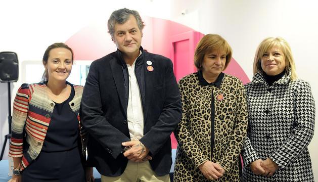 Olga Gelabert, Guillermo Cervera, Trini Marín i