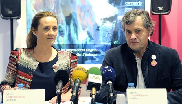 Olga Gelabert i Guillermo Cervera.