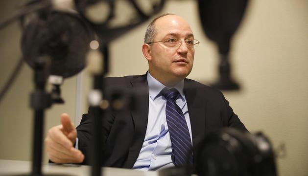 Alfons Alberca va destacar la independència de la fiscalia a la ràdio del Diari.