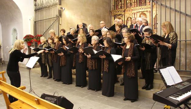 Un moment del concert de Nadal a Ordino.