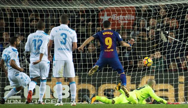 Luis Suárez va ser un dels més destacats del matx d'ahir.