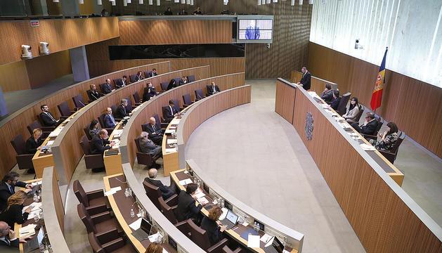 Una sessió del Consell General.