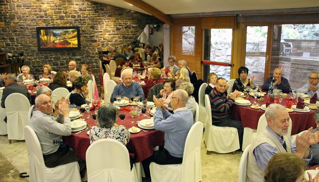 157 avis gaudeixen del dinar de Nadal d'Encamp