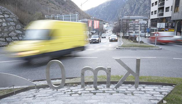 La rotonda del Km 0 és un dels llocs on es produeixen més accidents, la majoria lleus.