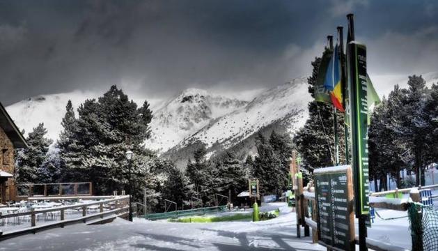 Pistes d'esquí de fons de la Rabassa.