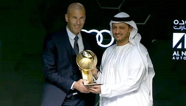 El Madrid va endur-se els tres premis més importants.