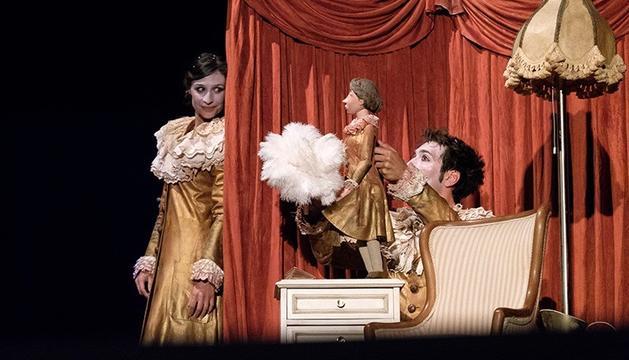 Una imatge de l'espectacle que es representa dimarts.
