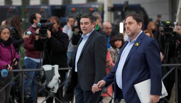 El jutge Llarena decidirà avui si deixa Oriol Junqueras en llibertat.
