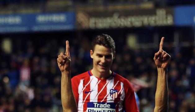 Diego Costa, ahir a Lleida.