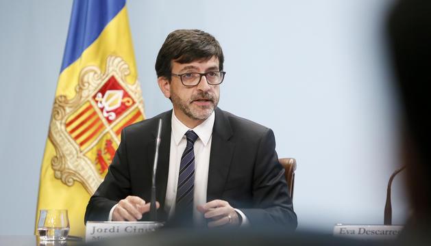 El ministre Jordi Cinca