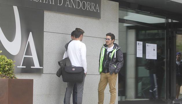 Façana principal de la Universitat d'Andorra