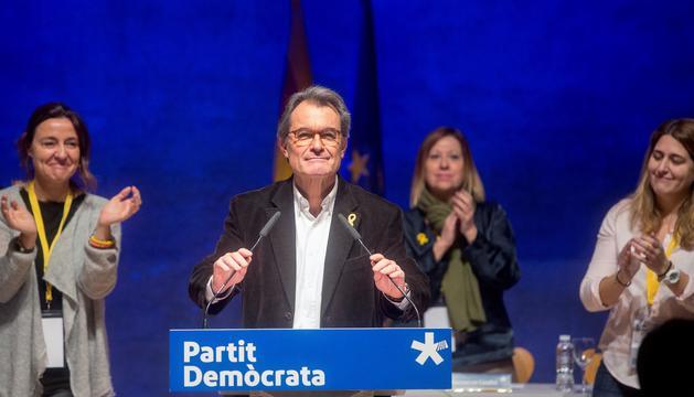 Artur Mas es va acomiadar del partit en el Consell Nacional.