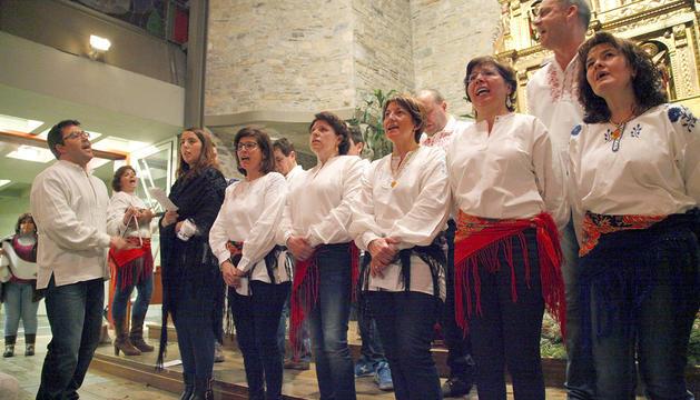 La cantada de 'janeiras', una tradició lusitana.