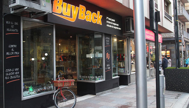 La botiga de segona mà BuyBack