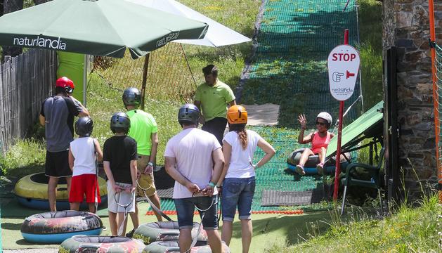Visitants a Naturlandia el 24 de juny de l'any passat
