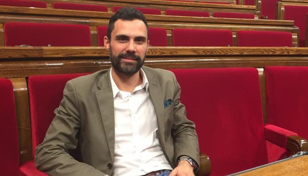 Roger Torrent, d'ERC, es perfila com a nou president del Parlament de Catalunya.