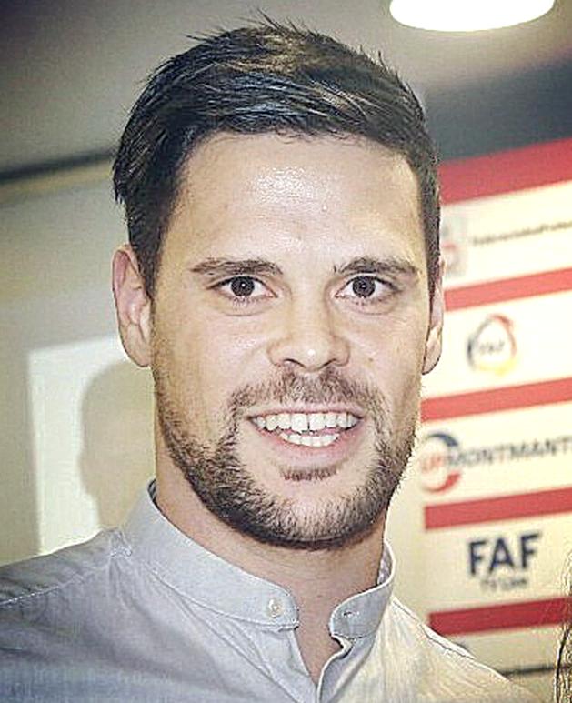El futbolista Marc Vales
