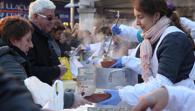 Els escudellaires d'Andorra la Vella han preparat 4.500 racions