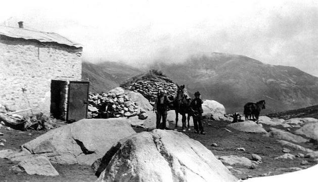 La Cabana del , la primera de totes les construccions del Pas de la Casa.