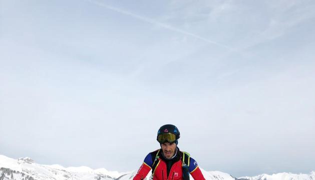 Xavi Areny, a Suïssa.