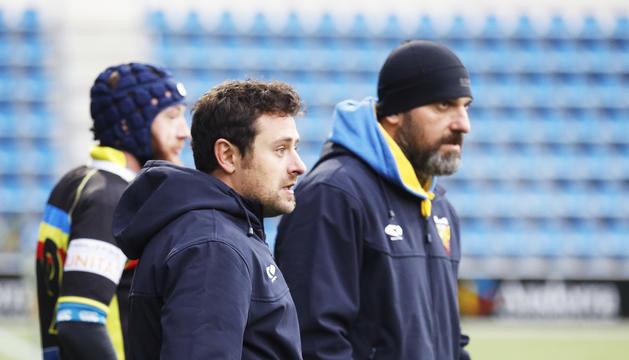 Els tècnics, Garcia i Kirikàixvili.