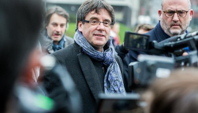 Carles Puigdemont es troba refugiat a Brussel·les.