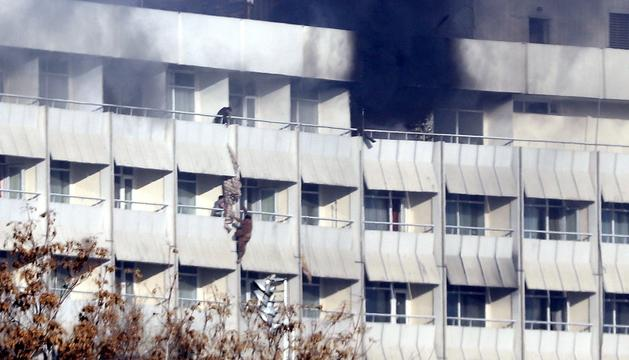 Atac contra l'Hotel Intercontinental de Kabul.